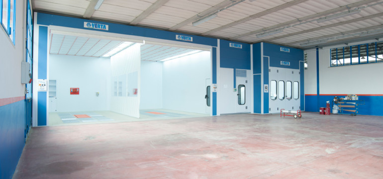 Nova Verta: spray booths designed to meet the needs of body shops